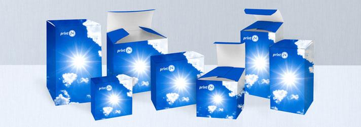 Impression pas chère de boîtes carton personnalisables - imprimerie en ligne print24