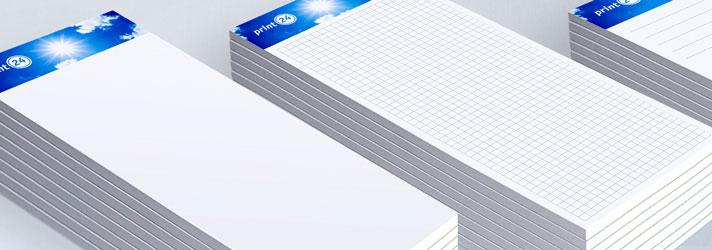 Horeca- en bestelblokjes bedrukken - Online drukkerij print24