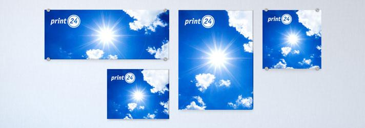 Wandbilder drucken lassen in verschiedenen Größen - Online-Druckerei print24