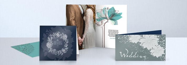 Hochzeitskarten drucken lassen mit individuellem Design - Druckerei print24