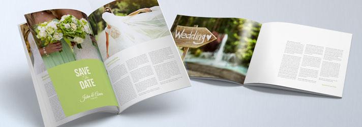 Einzigartige Hochzeitszeitung – Tipps & Ideen zur Gestaltung bei print24