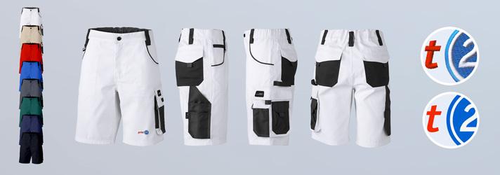 Shorts de travail Premium imprimés ou brodés en ligne sur print24