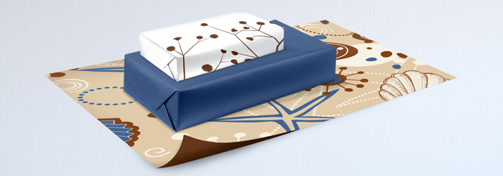 Gift wrapping paper printing - Online at print24