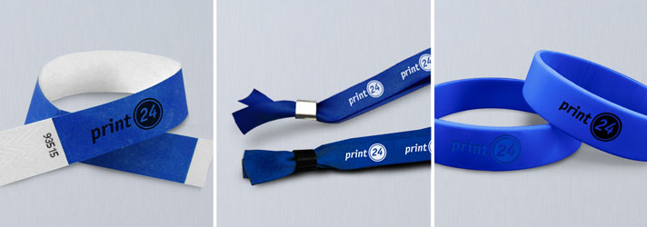 Wristbands printing - Online at print24